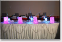 Party Lights Table