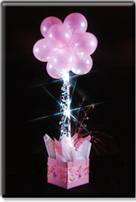 Party Lights Centerpieces