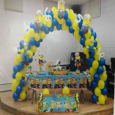 Balloon Arch Sample 8