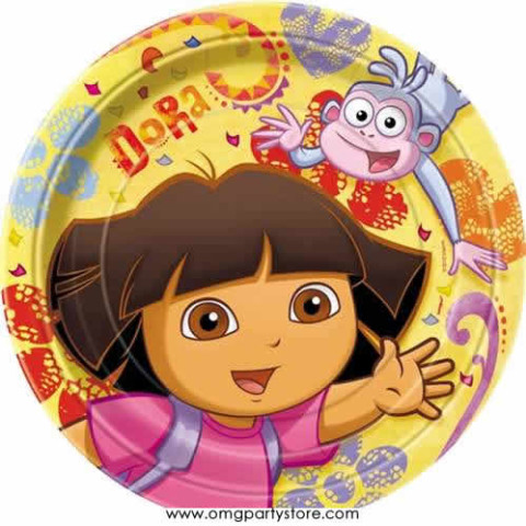 Party Supplies Dora