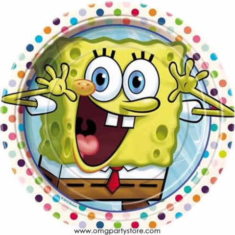 Party Supplies Sponge Bob