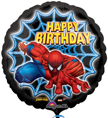 Balloons Spiderman