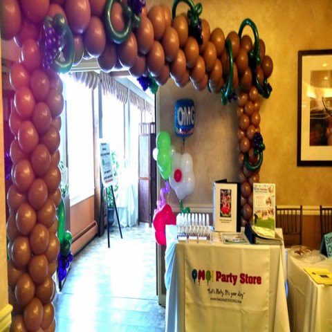 Balloon Arch Sample 7