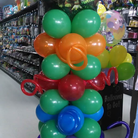 Balloon Bouquet Sample 2