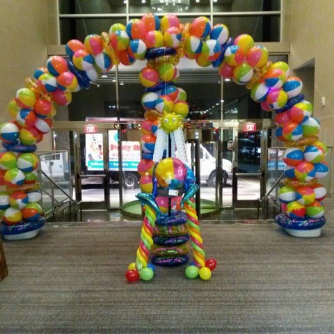 Balloon Arch Sample 9