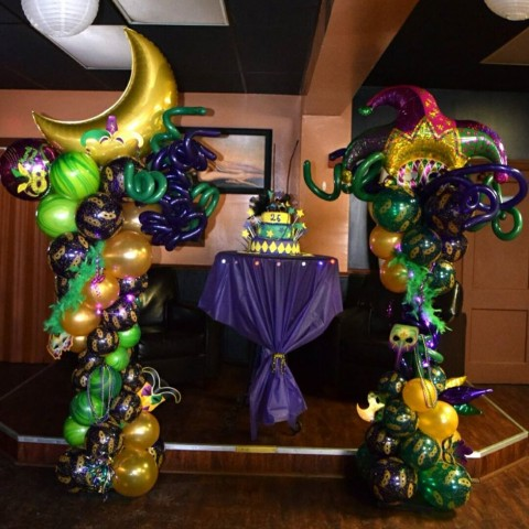 Balloon Arch Sample 5