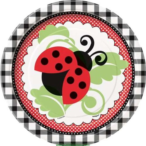 Party Supplies Lady Bug