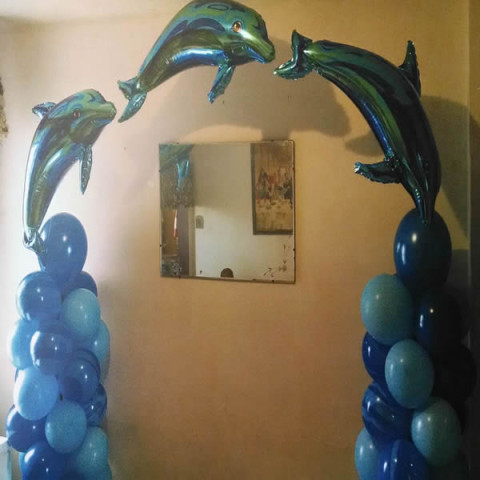 Balloon Arch Sample 12