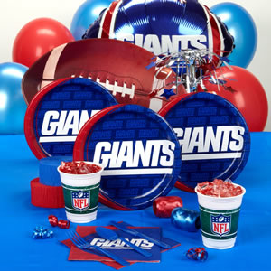 Party Supplies Giants
