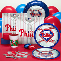 Party Supplies Phillies