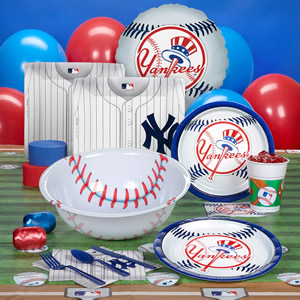 Party Supplies Yankees