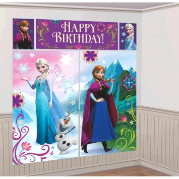 Party Supplies Frozen Wall Art